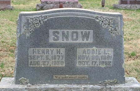 SNOW, HENRY H. - Greene County, Virginia | HENRY H. SNOW - Virginia Gravestone Photos