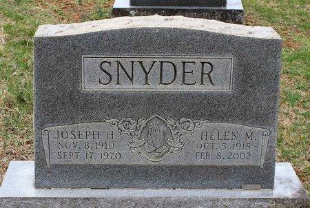 SNYDER, HELEN M. - Greene County, Virginia | HELEN M. SNYDER - Virginia Gravestone Photos