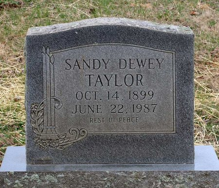 TAYLOR, SANDY DEWEY - Greene County, Virginia | SANDY DEWEY TAYLOR - Virginia Gravestone Photos