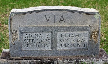 VIA, ADINA E. - Greene County, Virginia | ADINA E. VIA - Virginia Gravestone Photos