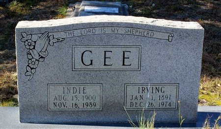 GEE, IRVING - Greensville County, Virginia | IRVING GEE - Virginia Gravestone Photos