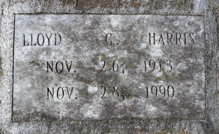 HARRIS, LLOYD G. - Greensville County, Virginia | LLOYD G. HARRIS - Virginia Gravestone Photos