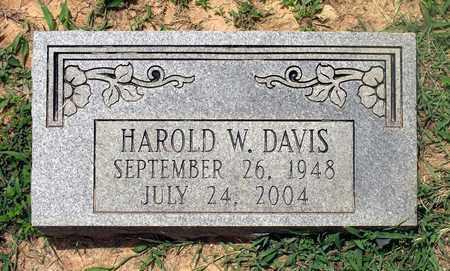DAVIS, HAROLD W. - Halifax County, Virginia | HAROLD W. DAVIS - Virginia Gravestone Photos