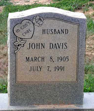 DAVIS, JOHN - Halifax County, Virginia | JOHN DAVIS - Virginia Gravestone Photos