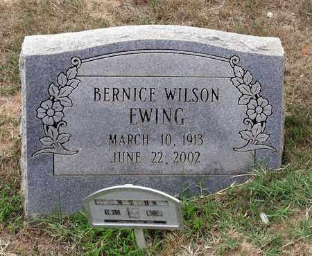 WILSON EWING, BERNICE - Halifax County, Virginia | BERNICE WILSON EWING - Virginia Gravestone Photos