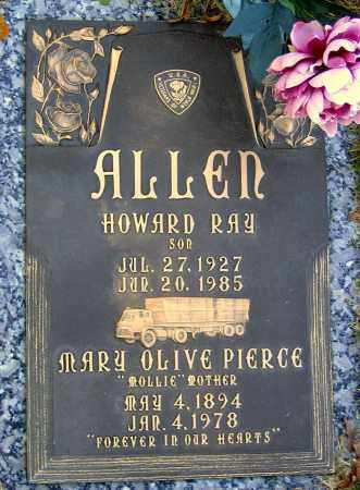 ALLEN, HOWARD RAY - Hanover County, Virginia | HOWARD RAY ALLEN - Virginia Gravestone Photos