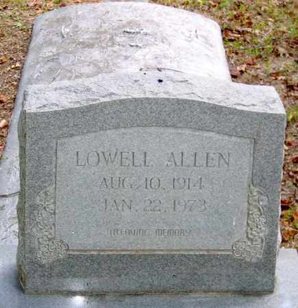 ALLEN, LOWELL - Hanover County, Virginia | LOWELL ALLEN - Virginia Gravestone Photos