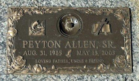 ALLEN, PEYTON SR. - Hanover County, Virginia | PEYTON SR. ALLEN - Virginia Gravestone Photos