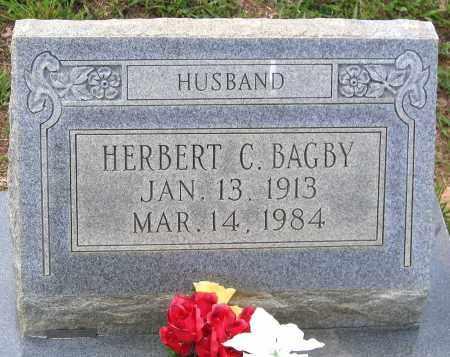 BAGBY, HERBERT C. - Hanover County, Virginia | HERBERT C. BAGBY - Virginia Gravestone Photos