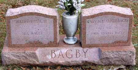 BAGBY, MARY ELIZABETH - Hanover County, Virginia | MARY ELIZABETH BAGBY - Virginia Gravestone Photos