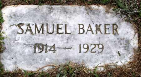 BAKER, SAMUEL - Hanover County, Virginia   SAMUEL BAKER - Virginia Gravestone Photos