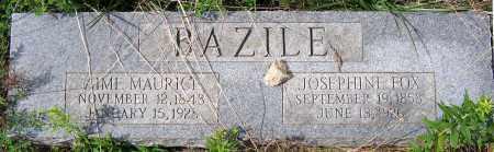 FOX BAZILE, JOSEPHINE - Hanover County, Virginia   JOSEPHINE FOX BAZILE - Virginia Gravestone Photos