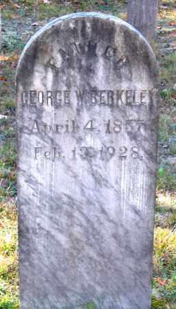 BERKELEY, GEORGE W. - Hanover County, Virginia | GEORGE W. BERKELEY - Virginia Gravestone Photos