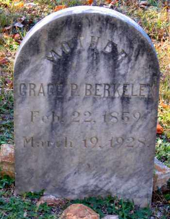 BERKELEY, GRACE P. - Hanover County, Virginia | GRACE P. BERKELEY - Virginia Gravestone Photos