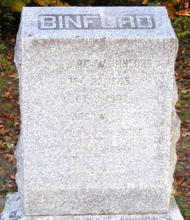 LEAKE BINFORD, EVELYN A. - Hanover County, Virginia | EVELYN A. LEAKE BINFORD - Virginia Gravestone Photos