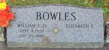 BOWLES, WILLIAM F. - Hanover County, Virginia | WILLIAM F. BOWLES - Virginia Gravestone Photos