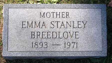 STANLEY BREEDLOVE, EMMA - Hanover County, Virginia | EMMA STANLEY BREEDLOVE - Virginia Gravestone Photos