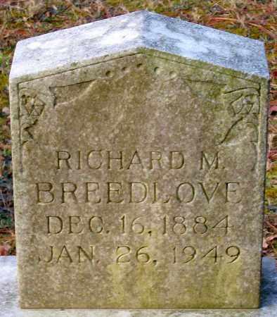 BREEDLOVE, RICHARD M. - Hanover County, Virginia | RICHARD M. BREEDLOVE - Virginia Gravestone Photos