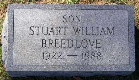 BREEDLOVE, STUART WILLIAM - Hanover County, Virginia | STUART WILLIAM BREEDLOVE - Virginia Gravestone Photos