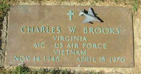 BROOKS, CHARLES W. - Hanover County, Virginia | CHARLES W. BROOKS - Virginia Gravestone Photos