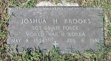 BROOKS, JOSHUA H. - Hanover County, Virginia | JOSHUA H. BROOKS - Virginia Gravestone Photos