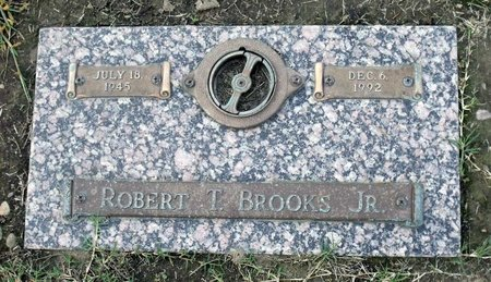 BROOKS, ROBERT T. JR. - Hanover County, Virginia | ROBERT T. JR. BROOKS - Virginia Gravestone Photos
