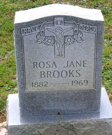 BROOKS, ROSA JANE - Hanover County, Virginia | ROSA JANE BROOKS - Virginia Gravestone Photos