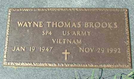 BROOKS, WAYNE THOMAS - Hanover County, Virginia | WAYNE THOMAS BROOKS - Virginia Gravestone Photos