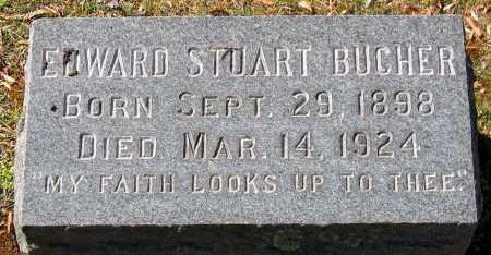 BUCHER, EDWARD STUART - Hanover County, Virginia | EDWARD STUART BUCHER - Virginia Gravestone Photos