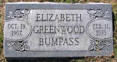 BUMPASS, ELIZABETH - Hanover County, Virginia | ELIZABETH BUMPASS - Virginia Gravestone Photos