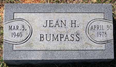 BUMPASS, JEAN H. - Hanover County, Virginia   JEAN H. BUMPASS - Virginia Gravestone Photos