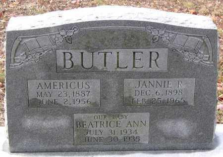 BUTLER, BEATRICE ANN - Hanover County, Virginia | BEATRICE ANN BUTLER - Virginia Gravestone Photos
