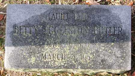 BUTLER, BETTY - Hanover County, Virginia | BETTY BUTLER - Virginia Gravestone Photos