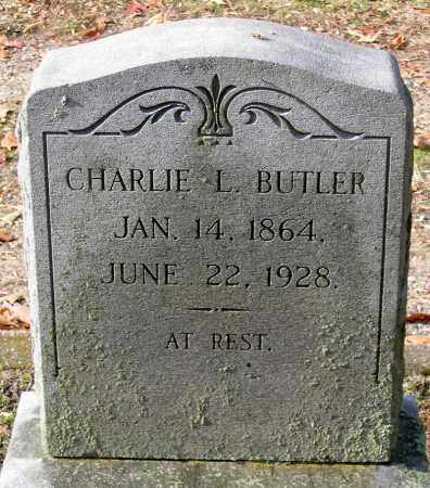 BUTLER, CHARLIE L. - Hanover County, Virginia | CHARLIE L. BUTLER - Virginia Gravestone Photos