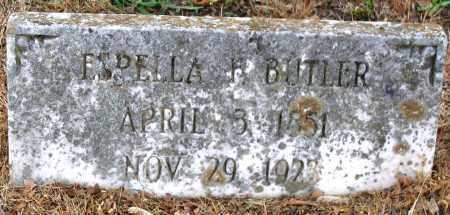 BUTLER, ESPELLA F. - Hanover County, Virginia   ESPELLA F. BUTLER - Virginia Gravestone Photos