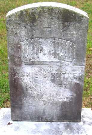 BUTLER, FANNIE E. - Hanover County, Virginia | FANNIE E. BUTLER - Virginia Gravestone Photos