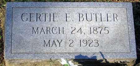 BUTLER, GERTIE E. - Hanover County, Virginia | GERTIE E. BUTLER - Virginia Gravestone Photos