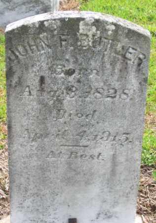 BUTLER, JOHN F. - Hanover County, Virginia | JOHN F. BUTLER - Virginia Gravestone Photos