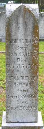 BUTLER, MARION C. - Hanover County, Virginia | MARION C. BUTLER - Virginia Gravestone Photos
