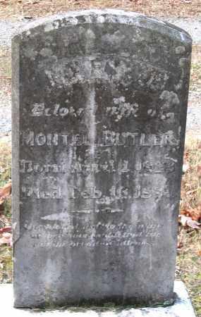 BUTLER, MARY J. - Hanover County, Virginia   MARY J. BUTLER - Virginia Gravestone Photos