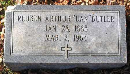 BUTLER, REUBEN ARTHUR - Hanover County, Virginia   REUBEN ARTHUR BUTLER - Virginia Gravestone Photos