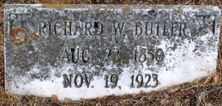 BUTLER, RICHARD W. - Hanover County, Virginia   RICHARD W. BUTLER - Virginia Gravestone Photos