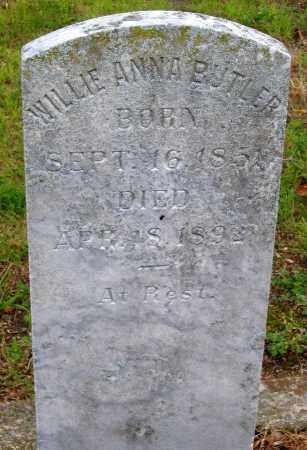 BUTLER, WILLIE ANNA - Hanover County, Virginia | WILLIE ANNA BUTLER - Virginia Gravestone Photos