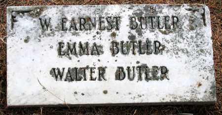 BUTLER, EMMA - Hanover County, Virginia | EMMA BUTLER - Virginia Gravestone Photos