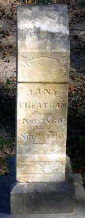 CHEATHAM, JANE - Hanover County, Virginia | JANE CHEATHAM - Virginia Gravestone Photos