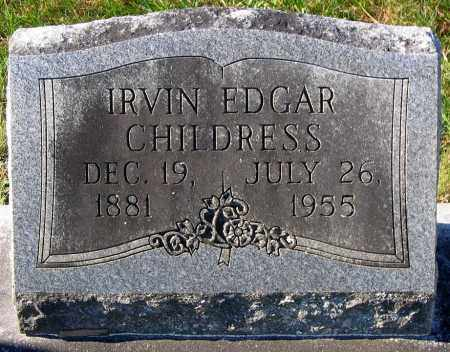 CHILDRESS, IRVIN EDGAR - Hanover County, Virginia | IRVIN EDGAR CHILDRESS - Virginia Gravestone Photos