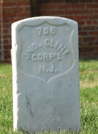 CLINE (CW), JOHN - Hanover County, Virginia | JOHN CLINE (CW) - Virginia Gravestone Photos