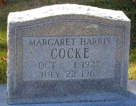 COCKE, MARGARET - Hanover County, Virginia | MARGARET COCKE - Virginia Gravestone Photos