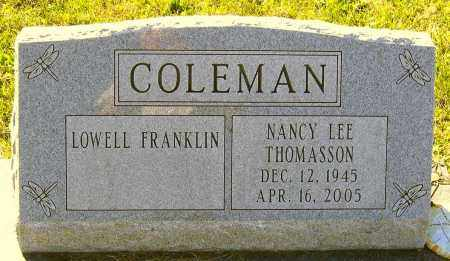 THOMASSON COLEMAN, NANCY LEE - Hanover County, Virginia | NANCY LEE THOMASSON COLEMAN - Virginia Gravestone Photos