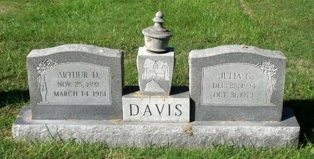 DAVIS, ARTHUR D. - Hanover County, Virginia | ARTHUR D. DAVIS - Virginia Gravestone Photos